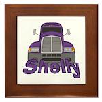 Trucker Shelly Framed Tile