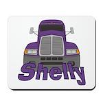 Trucker Shelly Mousepad