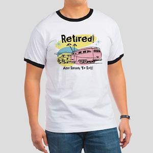 Retro Trailer Retired Ringer T