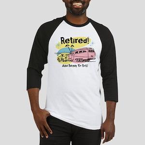 Retro Trailer Retired Baseball Jersey