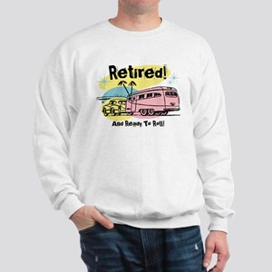 Retro Trailer Retired Sweatshirt