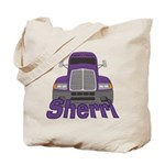 Trucker Sherri Tote Bag
