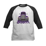 Trucker Sherri Kids Baseball Jersey