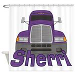 Trucker Sherri Shower Curtain