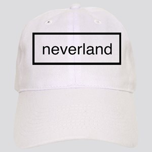 Neverland black and white Cap