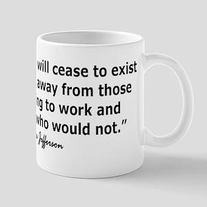 THOMAS JEFFERSON QUOTE Mug