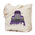 Trucker Sherry Tote Bag