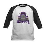 Trucker Sherry Kids Baseball Jersey