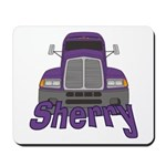 Trucker Sherry Mousepad