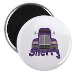 Trucker Sherry Magnet