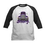 Trucker Sheryl Kids Baseball Jersey