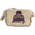 Trucker Sheryl Messenger Bag