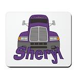 Trucker Sheryl Mousepad