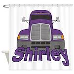 Trucker Shirley Shower Curtain