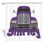Trucker Shirley Shower Curtain