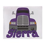 Trucker Sierra Throw Blanket