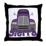 Trucker Sierra Throw Pillow