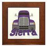 Trucker Sierra Framed Tile