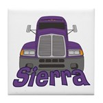 Trucker Sierra Tile Coaster