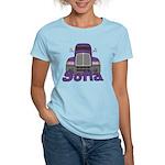 Trucker Sofia Women's Light T-Shirt