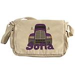 Trucker Sofia Messenger Bag
