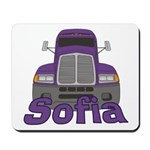 Trucker Sofia Mousepad