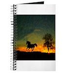 AFTM Old Black Stallion At Sunrise Journal