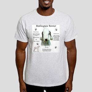 Bedlington 1 Ash Grey T-Shirt