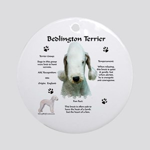 Bedlington 1 Ornament (Round)