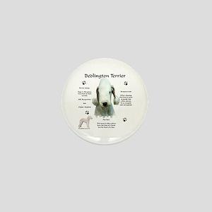 Bedlington 1 Mini Button