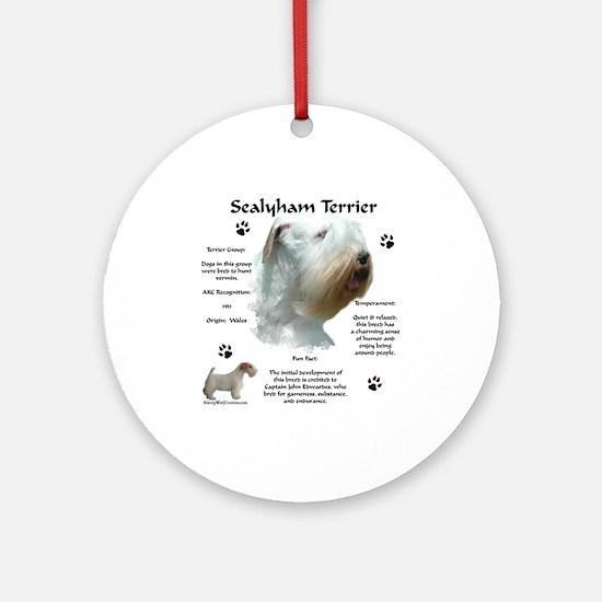 Sealy 2 Ornament (Round)