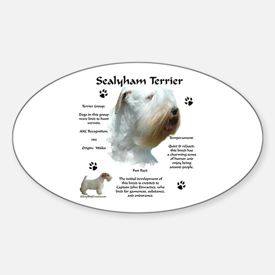 Sealy 2 Oval Decal
