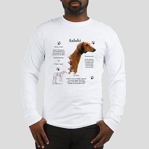 Saluki 1 Long Sleeve T-Shirt