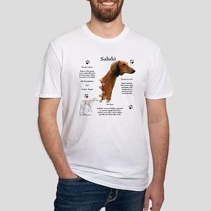 Saluki 1 Fitted T-Shirt