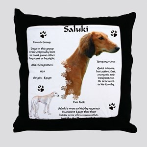 Saluki 1 Throw Pillow