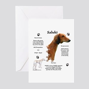 Saluki 1 Greeting Cards (Pk of 10)