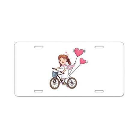 Sweet girl Aluminum License Plate