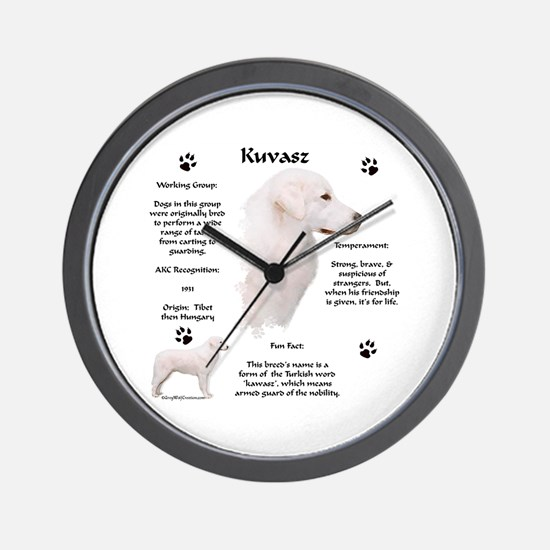 Kuvasz 2 Wall Clock
