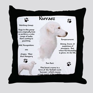 Kuvasz 2 Throw Pillow