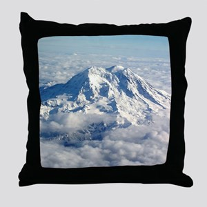 Helaine's Mt Hood Throw Pillow