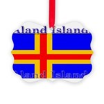 Aland Islands Picture Ornament