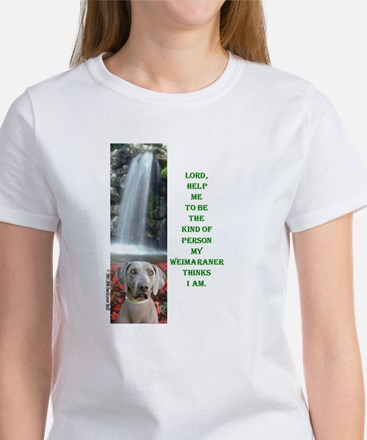 Lord Help Me -RecMag -Weimaraner T-Shirt