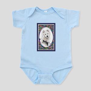 Samoyed Designer Infant Creeper