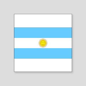 """Argentinablank Square Sticker 3"""" x 3"""""""