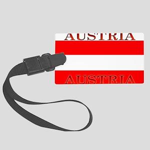 Austria Large Luggage Tag