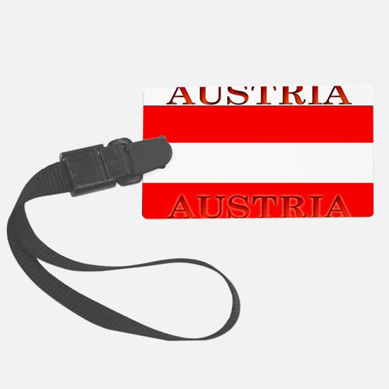 Austria.jpg Luggage Tag