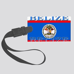 Belize Large Luggage Tag