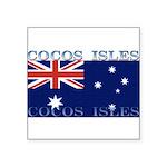 CocosIsles Square Sticker 3