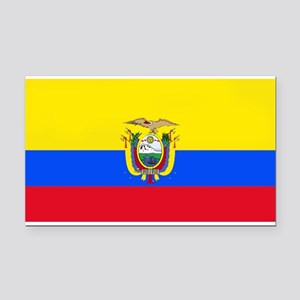 Ecuadorblank Rectangle Car Magnet