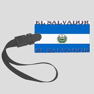 ElSalvador Large Luggage Tag